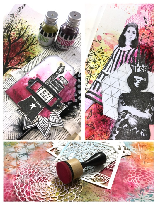 Aperçu Art Journal Girl Power